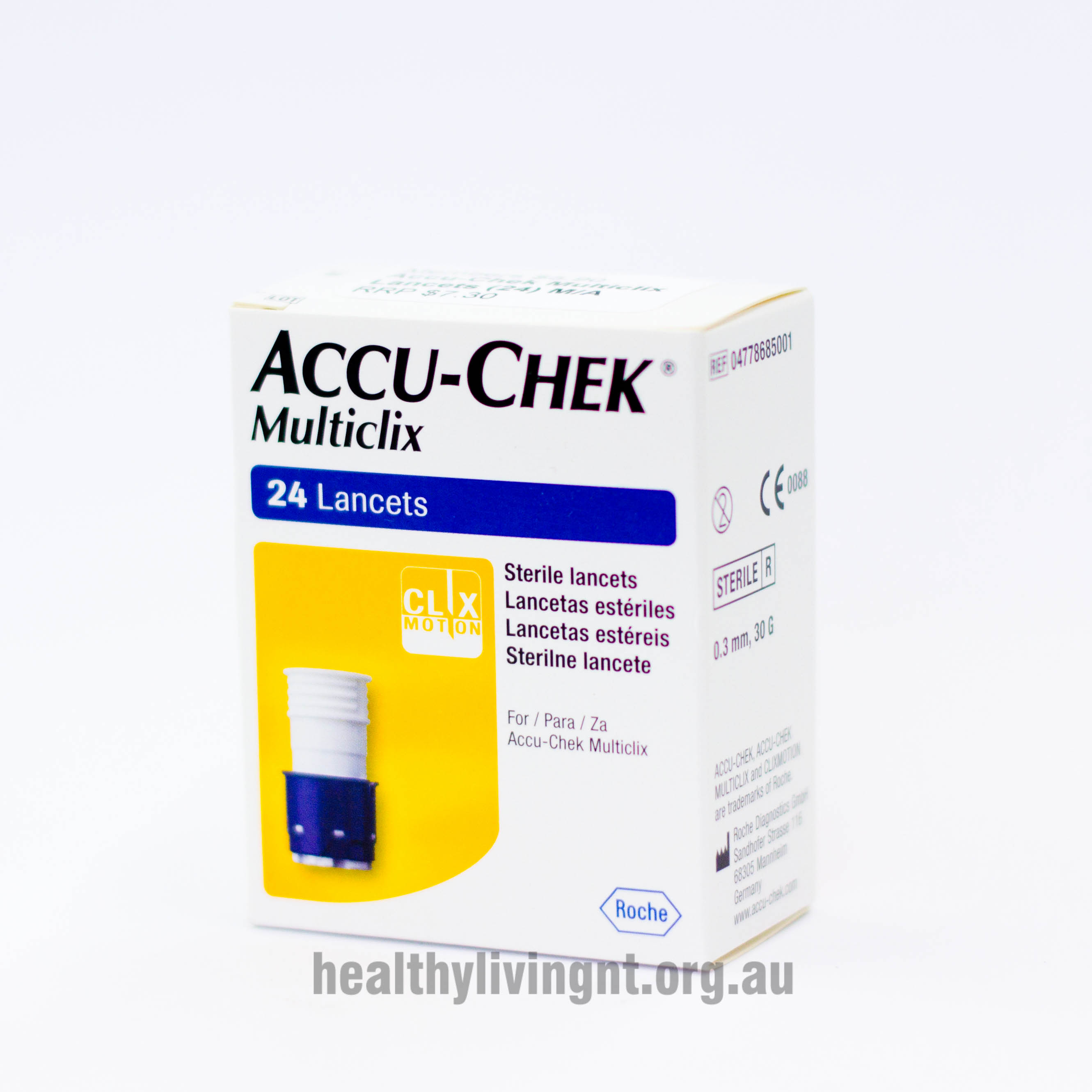 Accu Check Multiclix Lancets