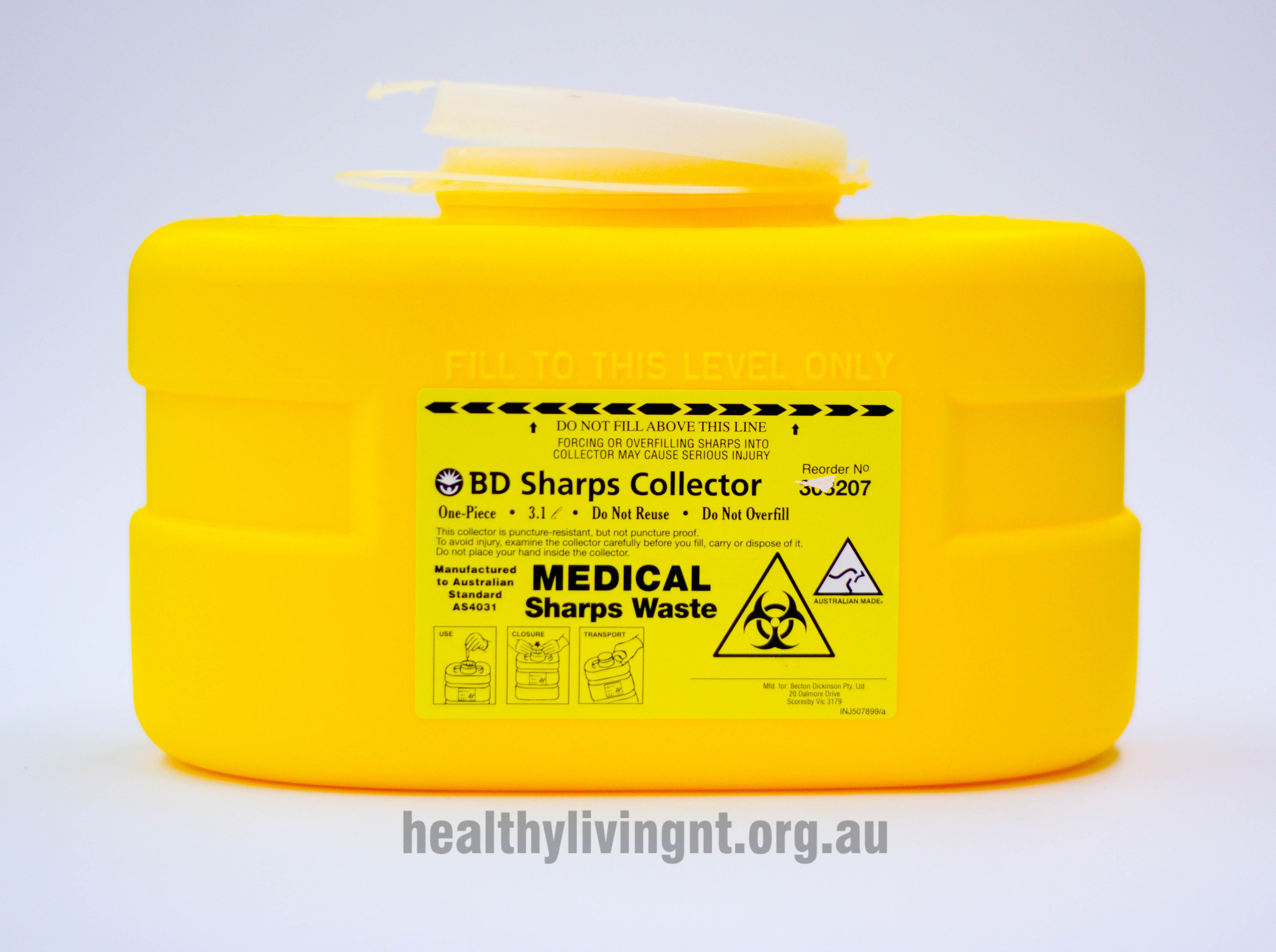 BD Sharps Container 3.1 litre