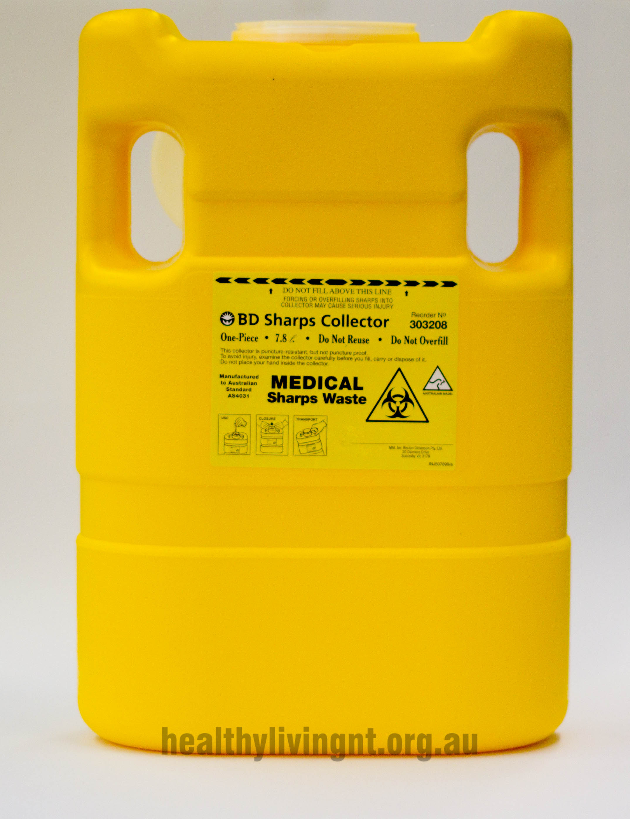 BD Sharps Container 8 litre