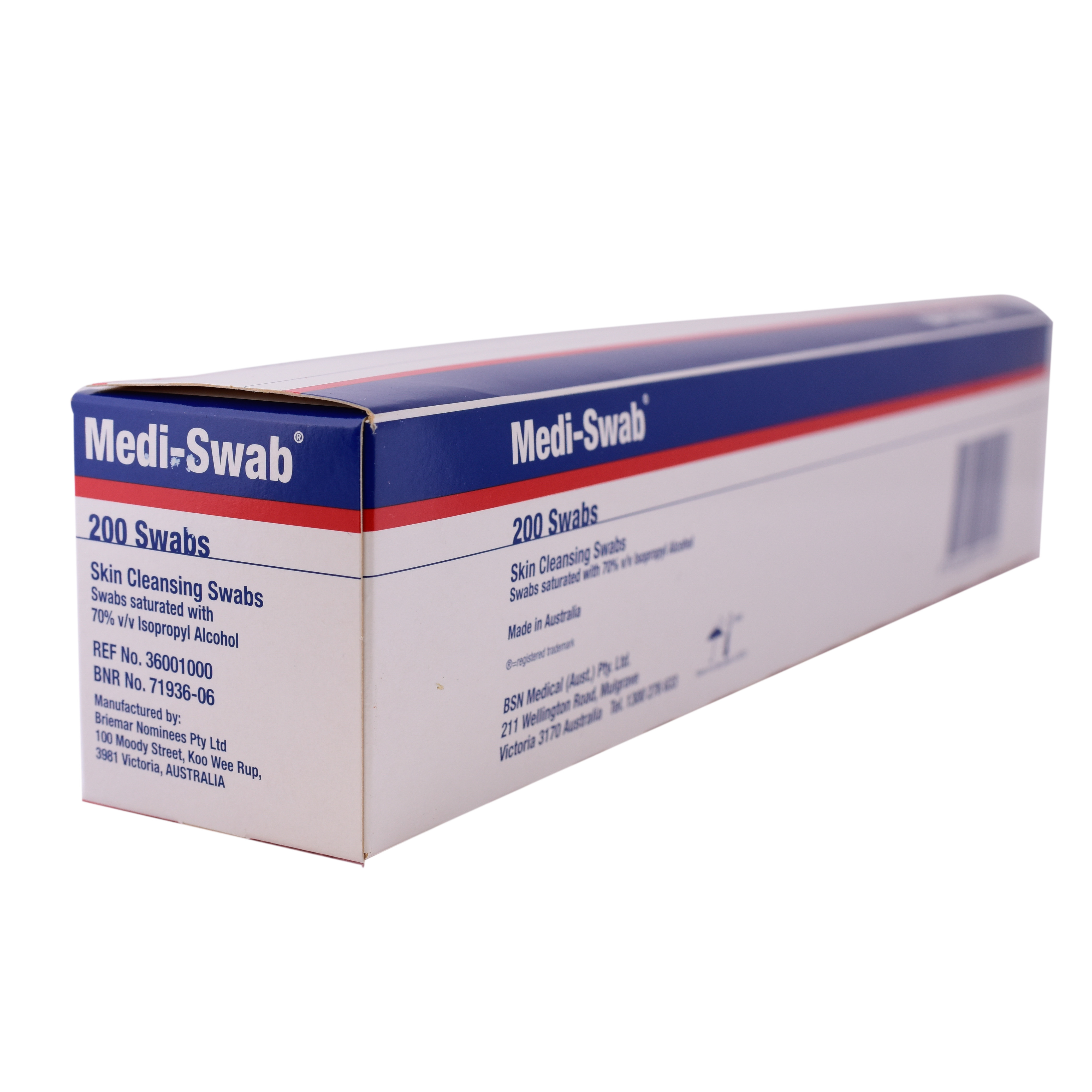 Medi Swab Alcohol Wipes